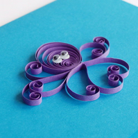 Quilled Octopus Card