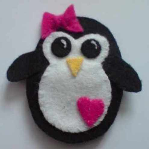 Penguin Brooch
