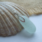 Sea glass stopper stem necklace, beach glass stopper, bottle stopper necklace