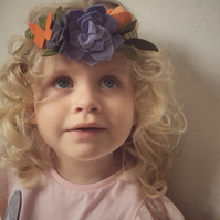 Toddler Flower Crown by Licimo