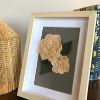 Box frame 3D Flower Art