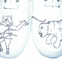 Tiger tamer shoes