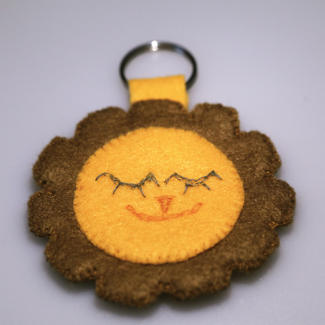 Cute Lion Key Ring