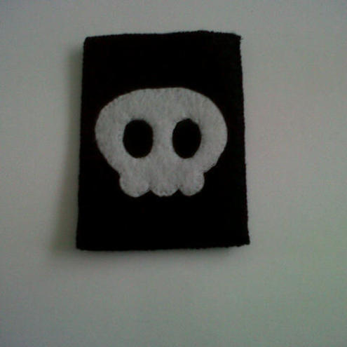 Cute Skull BlackberryPhone Case