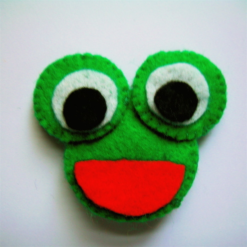 Cute Frog Brooch