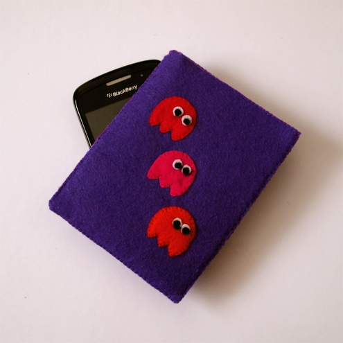 Pac Man Ghost BlackberryPhone Case