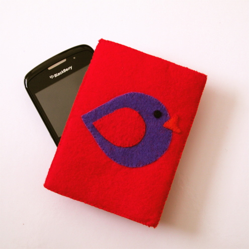 Cute Bird BlackberryPhone Case