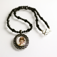 Screen Glamour Audrey Hepburn Cameo Necklace