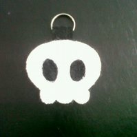 Cute Skull Key Ring