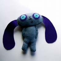 Quirky Felt Rabbit