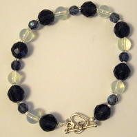 Dark and Light Bead Bracelet