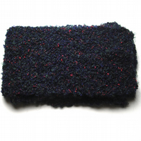 Boucle Hand Knitted Scarf