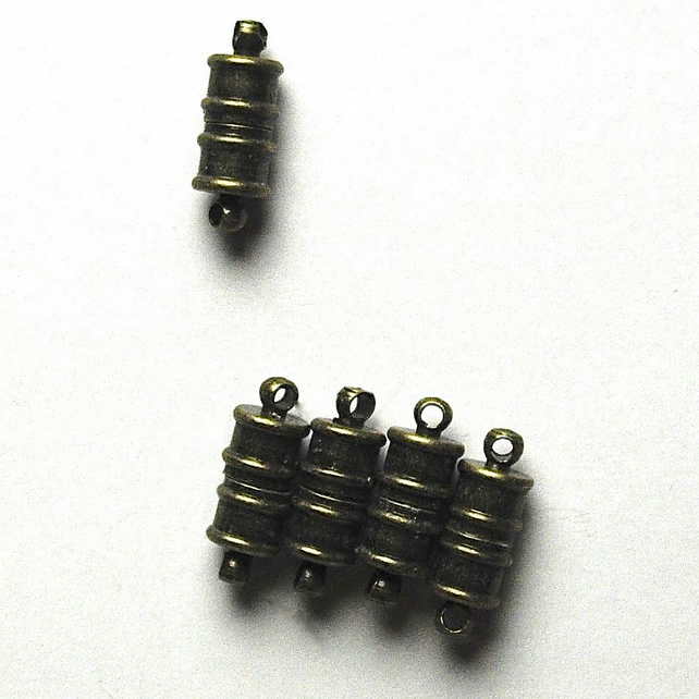 10 x Sets Bronze Tone Magnetic Clasps