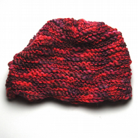 Hand Knitted Wool Rich Tea Cosie