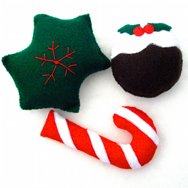 Cute Festive Cat Nip Gift Set - UK Free Post