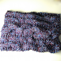 Chunky Cowl Infinity Scarf - UK Free Post