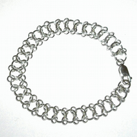 Hand Made Sterling Sliver Bracelet