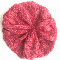 Pretty Red Mix Slouch Beret