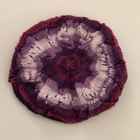Pretty Purple Tones Beret