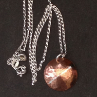 Handmade Copper Pendant Necklace