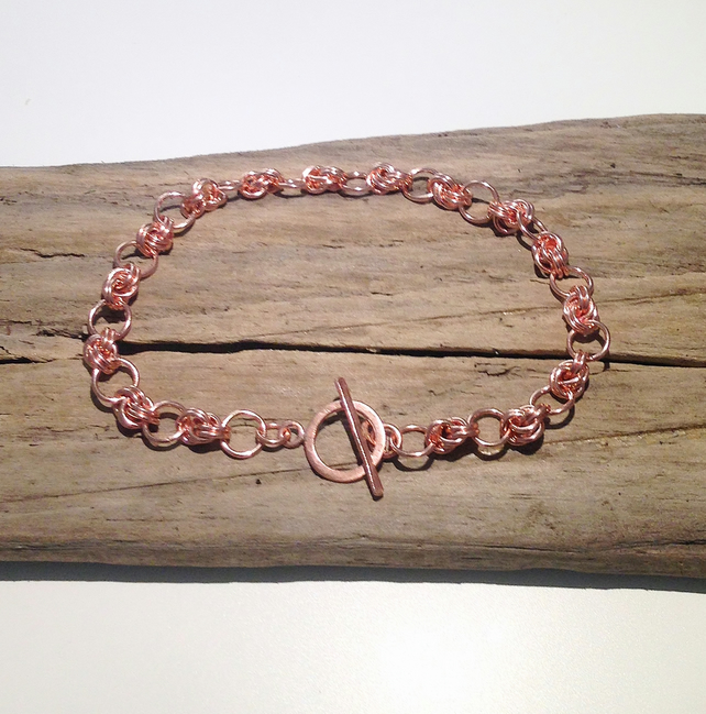 Handmade Copper Bracelet - UK Free Post