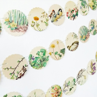 Spring bunting, Flower Bunting, Floral Bunting