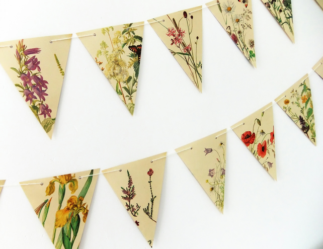 Summer Flowers Bunting