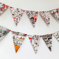 Victor Bunting - Boy's Party Bunting - Eco-Friendly Garland