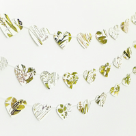 Heart Bunting - Botanical Garland