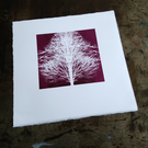 'Ghost Trees' Limited edition screen print