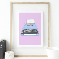 Hello Gorgeous art print, Valentine or anniversary gift, home office decor