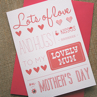 Mother's Day Card - Mother's Day Message