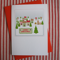 Winter Village Christmas Card (codeC11)