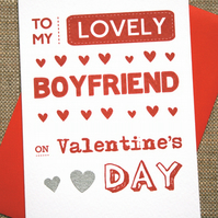 Valentine's Card - Lovely Boyfriend