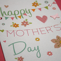 Mother's Day Card - Mother's Day Garland