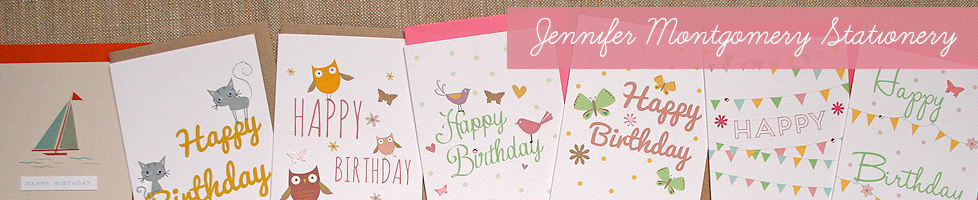 Jennifer Montgomery Stationery