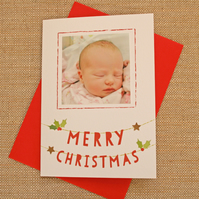 C13 - Personalised Photo Christmas Card