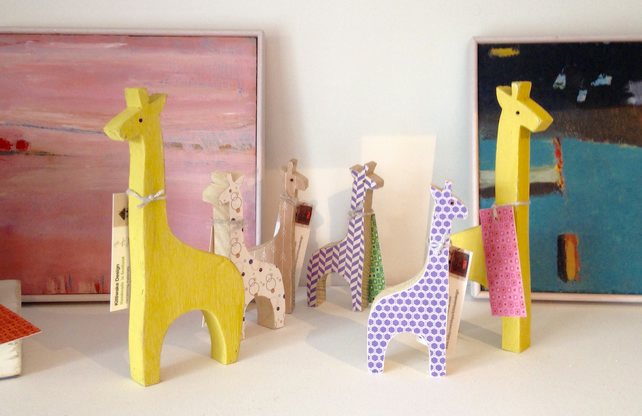 Wooden Giraffe (Large)