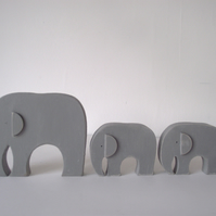 Wooden Elephant (large)