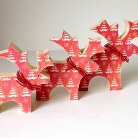 Wooden Reindeer Sets