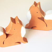 Little Wooden Fox