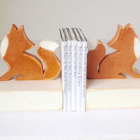 Fox Bookends
