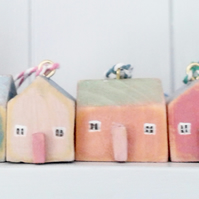 Little Wooden House Decorations