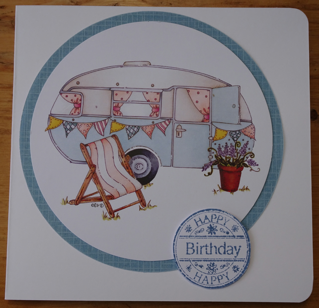 Happy Birthday in the caravan