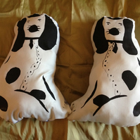 Pair of Chinese Dog Cushions