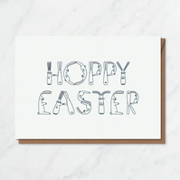 Hoppy Easter card 03