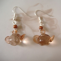 Sparkly teapot earrings PIF Pay it Forward listing!