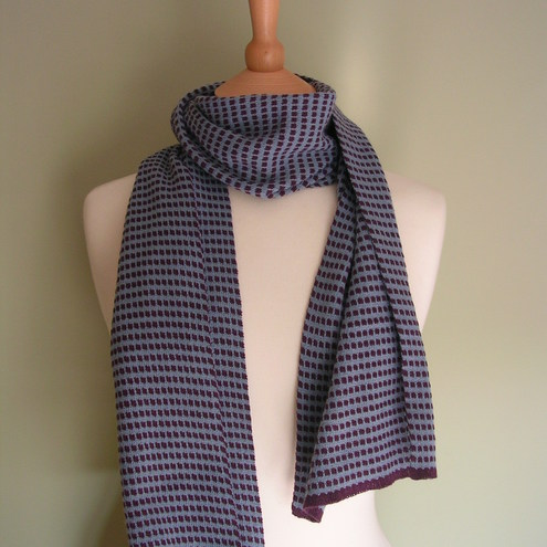 Purple & Blue Scarf