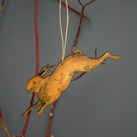 Hare hanging
