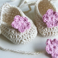 Baby Ballet Bootees